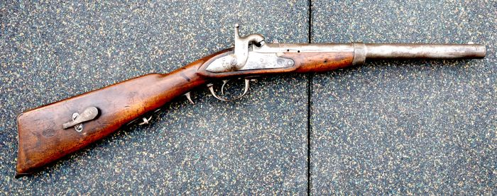 Austria - Model 1842 - Cavalry carbine - Percussion - Carbine - 18mm cal -  Catawiki