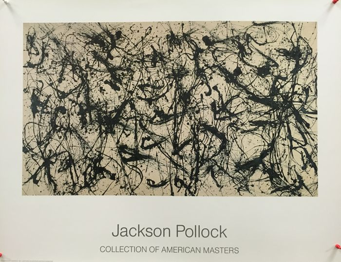 Jackson Pollock - Collection of American Masters (Number 32) - 1989