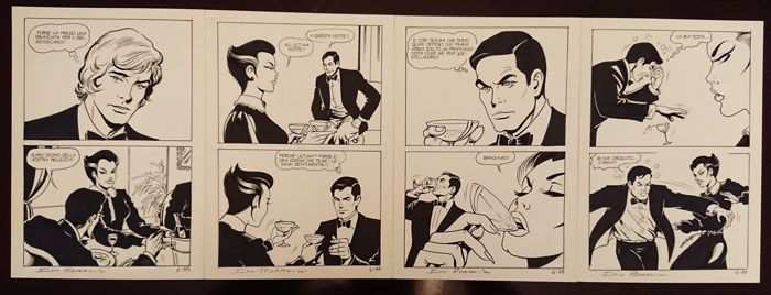 Ulula n. 6 - G. Romanini - 4x original pages - First edition - (1982)