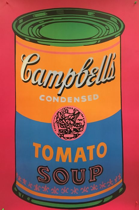 Andy Warhol - Campell's Tomato Soup Can - 1993
