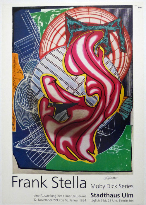 Frank Stella - Moby Dick - handsigniert