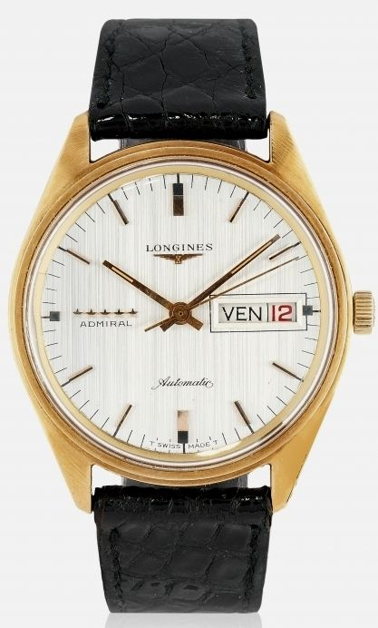 Longines - Admiral 5 ***** automatic day-date - ref. 8184 - Heren - 1970-1979