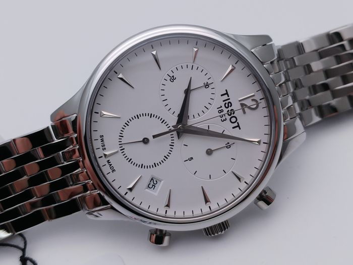 """Tissot - Tradition Chronograph - T063.617.11.037.00 - """"NO RESERVE PRICE"""" - Homme - 2011-aujourd'hui"""