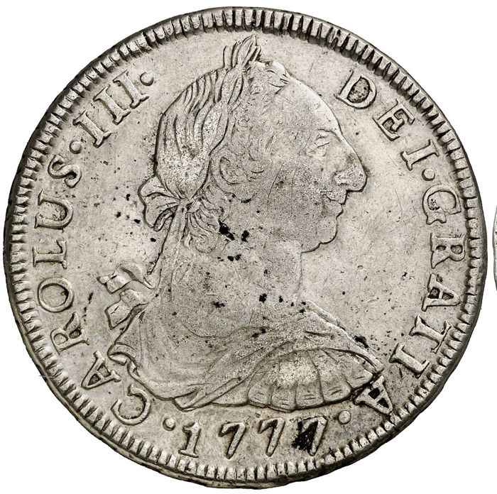 Spain - 8 Reales 1777 - Silver