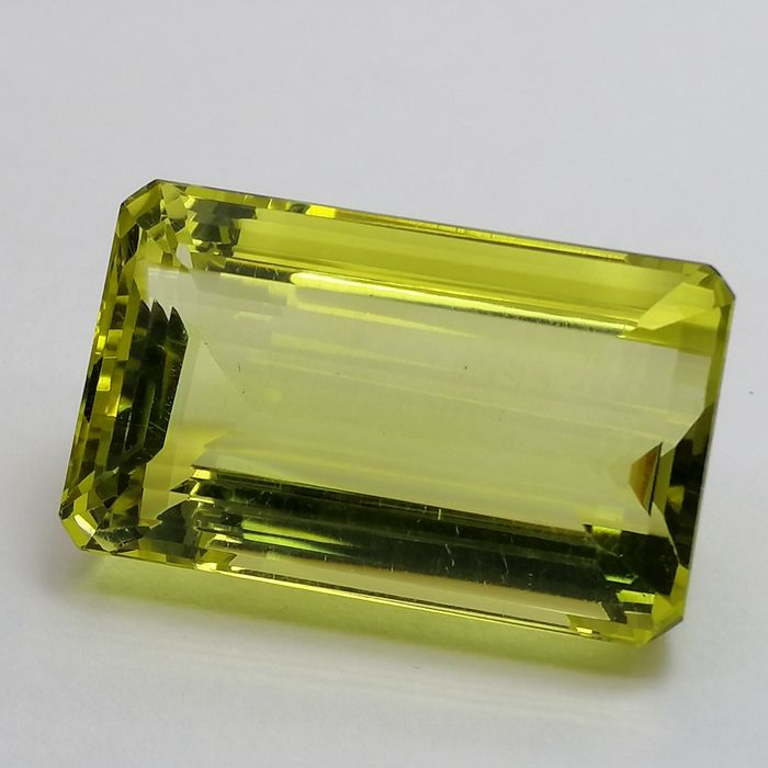 Lemon Quartz - 37.73 ct
