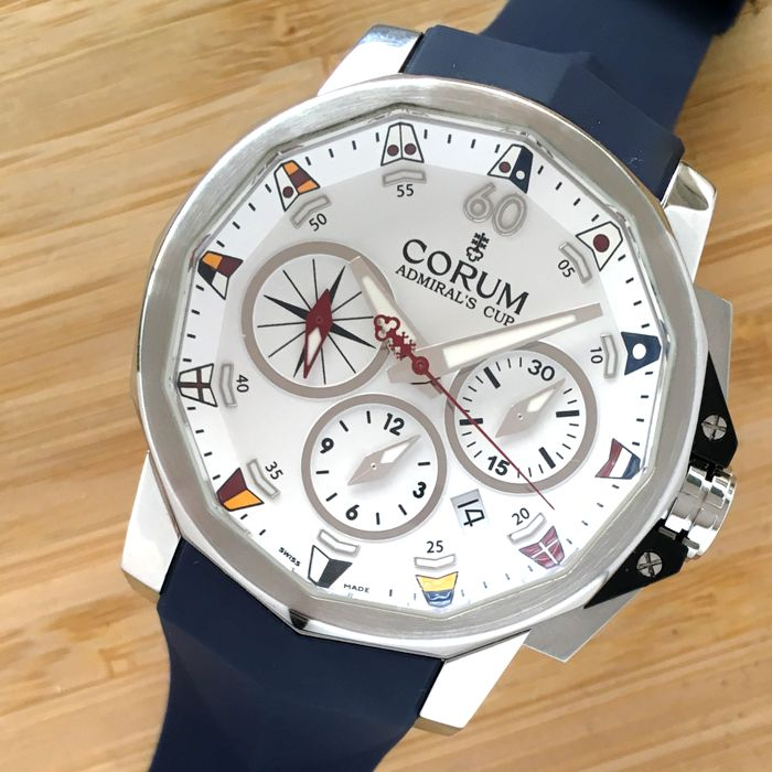 Corum - Admiral´s Cup Chronograph Challenger 44mm  - 01.0007 - Homme - 2011-aujourd'hui