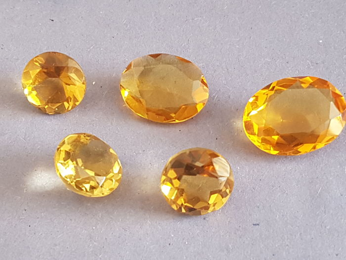 5 Citrin - 57.00 ct