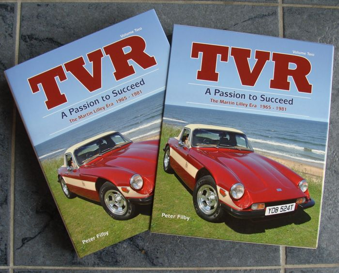 Boek: TVR - a Passion to Succeed - 1965-1981