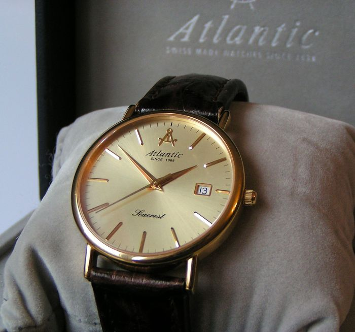 ATLANTIC Seacrest Men's watch Catawiki