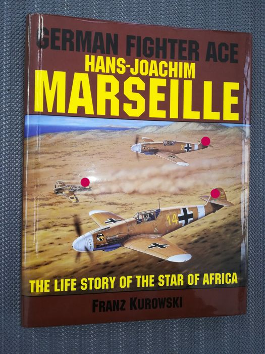 Germany - Air Force Knight Cross Marseille - Book - 1994