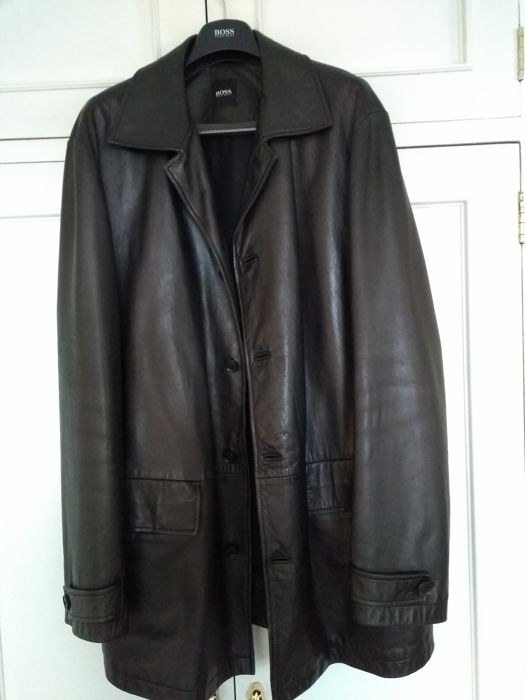 c0601307ab2ad HUGO BOSS LAMB LEATHER JACKET - LOW RESERVE PRICE ...