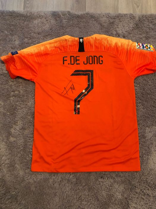 the best attitude 360ea 6f5a0 Netherlands - UEFA Nations League - Frenkie De Jong - 2018 ...