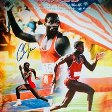 U.S.A - Atletismo - Carl Lewis - Póster