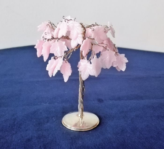 Tree with ivy leaves - .800 silver - Italy - 1950-1999