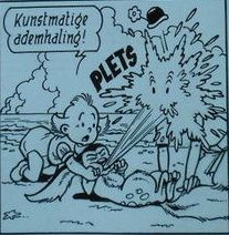 Pats - Originele pagina - Lieve Loempia (p.7) - Loose page - in inkt - (1976)