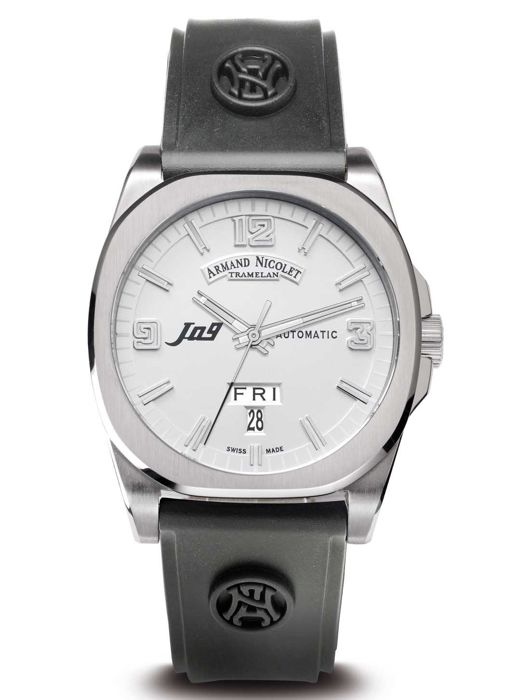 Armand Nicolet - J09 Day&Date Automatic - 9650A-AG-G9660 - Heren - 2011-heden