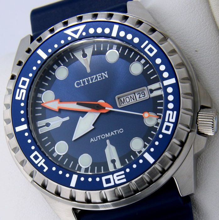 "Citizen - Automatic Diver 100M Blue ""NO RESERVE PRICE"" - Heren - 2011-heden"
