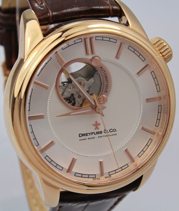 """Dreyfuss & Co. - """"NO RESERVE PRICE""""  Swiss Hand Made Automatic  - Hombre - 2011 - actualidad"""