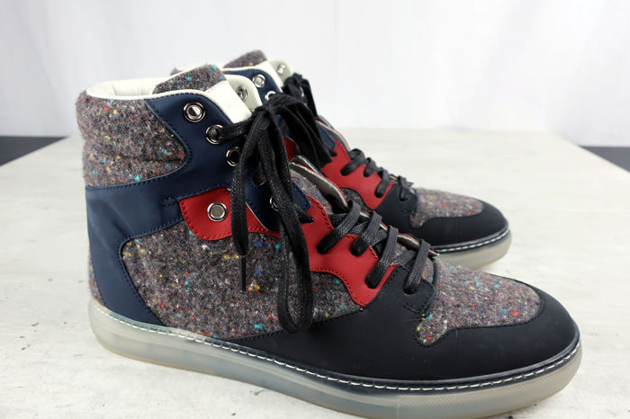 c427419d0 Balenciaga - High Top Lace-Up Sneakers - As New - Catawiki