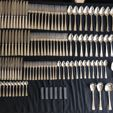 Silver Plated Cutlery Sets auction