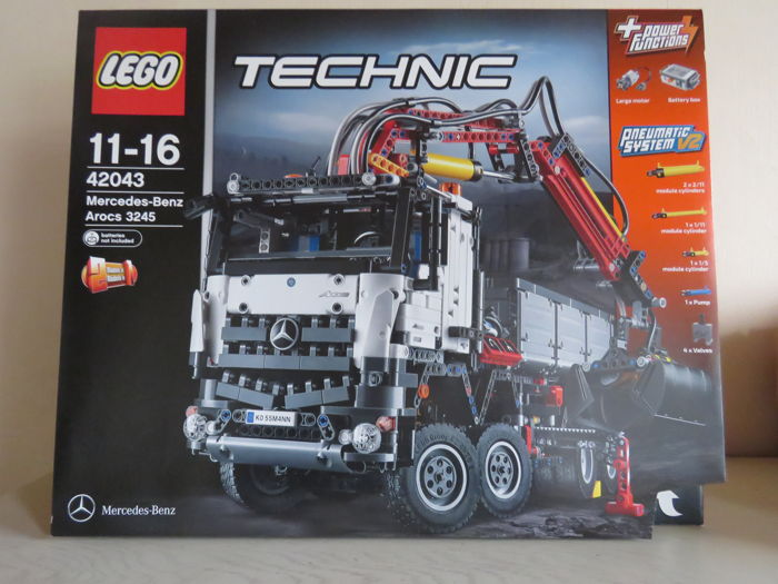 lego technic 42043 car mercedes benz arocs 3245. Black Bedroom Furniture Sets. Home Design Ideas