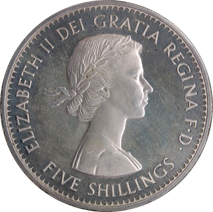 United Kingdom - Crown 1960 Elizabeth II (in Proof 30-50 examples known) - Silver