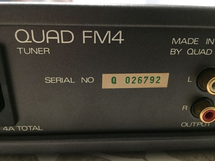 Quad - 306 + 34 + FM4 - Hi-Fi set - Catawiki