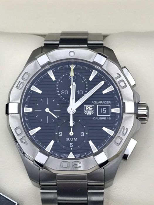 on sale 4fd26 6f7b6 TAG Heuer - Aquaracer Calibre 16 Chronograph New - CAY2110.BA0925 - Men -  2011-present - Catawiki