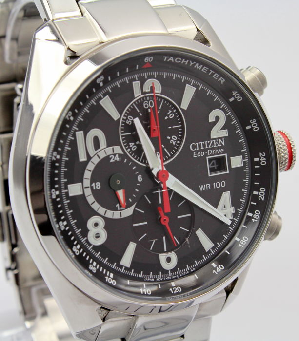 Citizen - ECO Drive Chronograph - Mint Condition - Bărbați - 2011-prezent