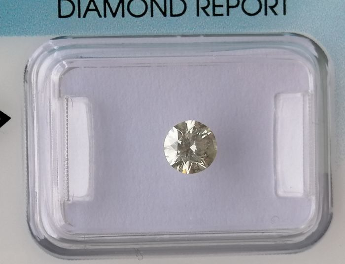 1 pcs Diamond - 0.47 ct - Briliant - M - I 2