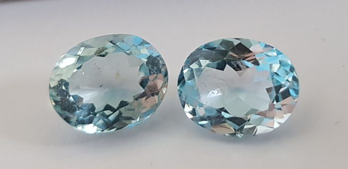 Without reserve price-Blue Topaz - 6.98 ct