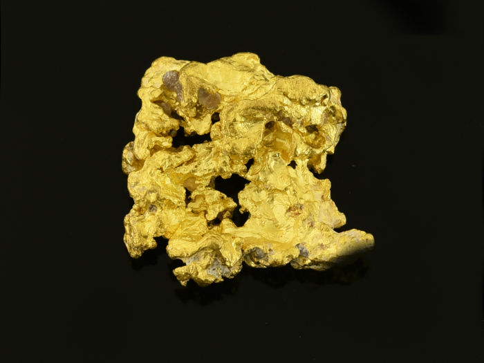 Gold Nuggets - 14.6×12.3×5.1 mm - 3.154 g