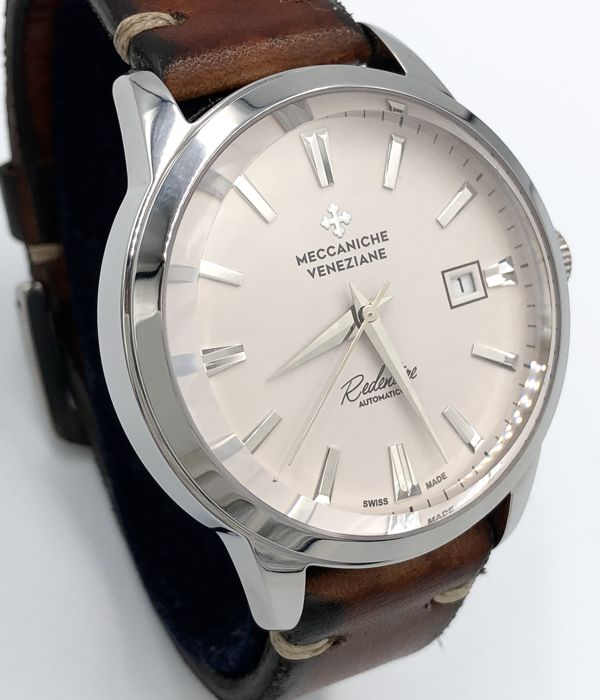 "Meccaniche Veneziane - Redentore Automatic Ghiaccio White ""NO RESERVE PRICE"" - MV135 - Men - NEW"
