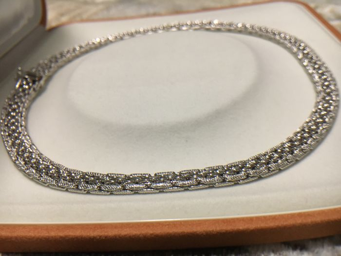 Marotto - 18 kt. White gold - Necklace