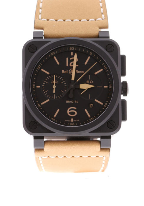 Bell & Ross - Heritage Automatic Chronograph - BR0394-HERI-CE - Unisex - 2018