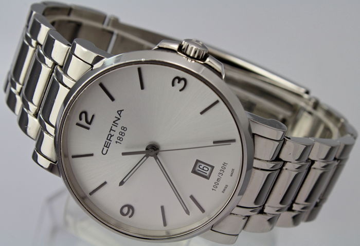 Certina - Stainless Steel Bracelet - Box & Papers - Swiss Made Excellent Condition - Bărbați - 2011-prezent