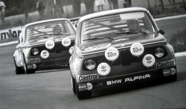 Decoratief object - BMW 2002 Alpina - Hohenzollern/Pankl - Nürburgring - 1971 (1 items)