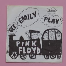 """Dutch copy of 7"""" single 45 RPM copy of  Pink Floyd – See Emily Play (Columbia DB 8214 (7XCA 30214), NL, 1967)"""