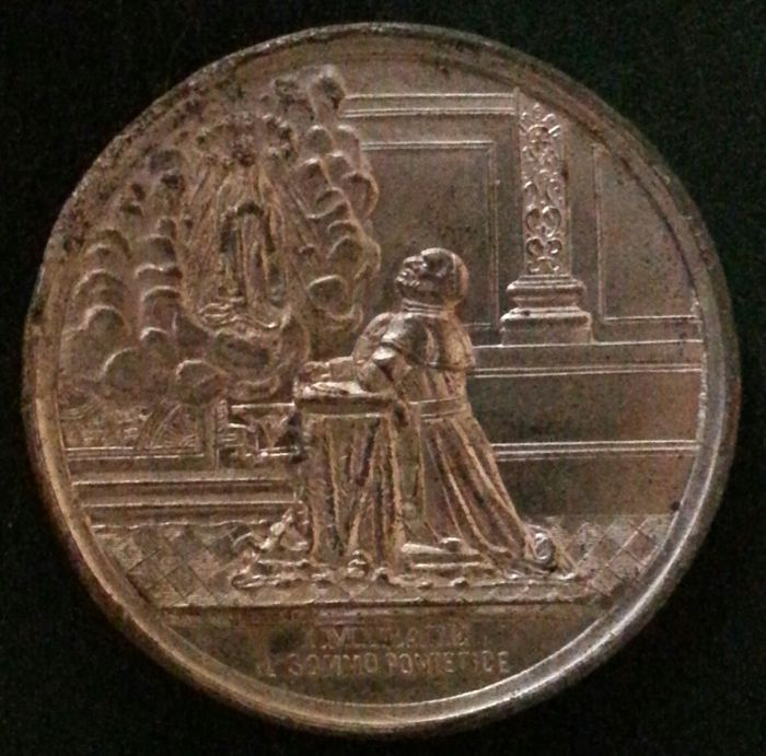 Vatican - Pope Leo XIII - Medal for the sacerdotal jubilee.