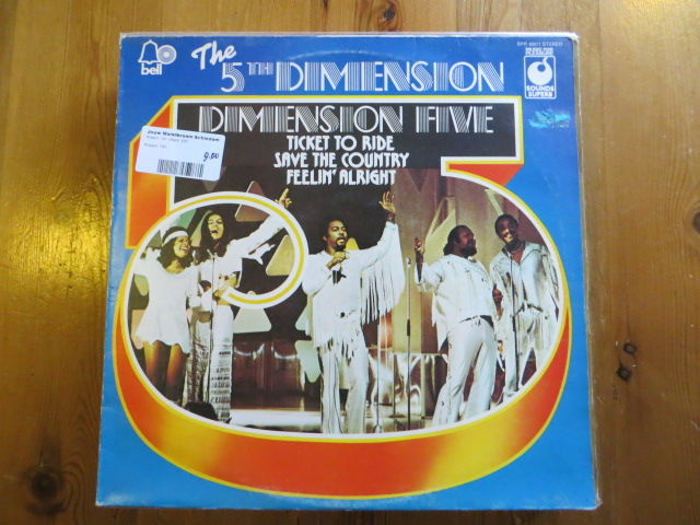 Donna Summer, Fifth Dimension, Tina Turner, Three Degrees, Trammps - SOUL/FUNK LP's from the seventies - LP's - 1970/1984