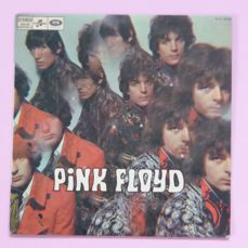 """Extremely Rare first press french Columbia copy of Pink Floyd, """"The Piper at the Gates of Dawn"""" (Columbia – SCTX 340.568, France, 1967, green labels)"""