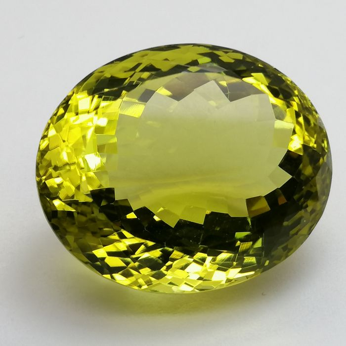 Green Gold Quartz - 43.02 ct