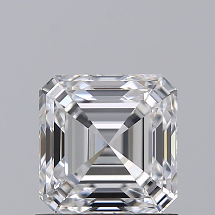 1 pcs Diamond - 1.01 ct - Asscher - D (fără culoare) - VS1
