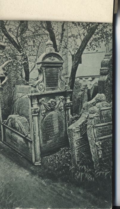 Judaica; Booklet With 25 Views Of Prague Synagogues