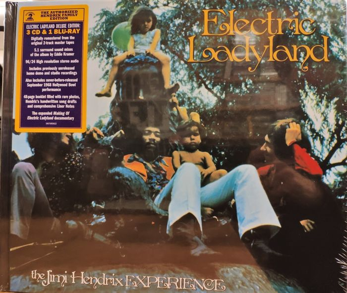 Electric Ladyland || Mint & Sealed || Deluxe 3 - CD Boxset, Blu-Ray - 2018/2018