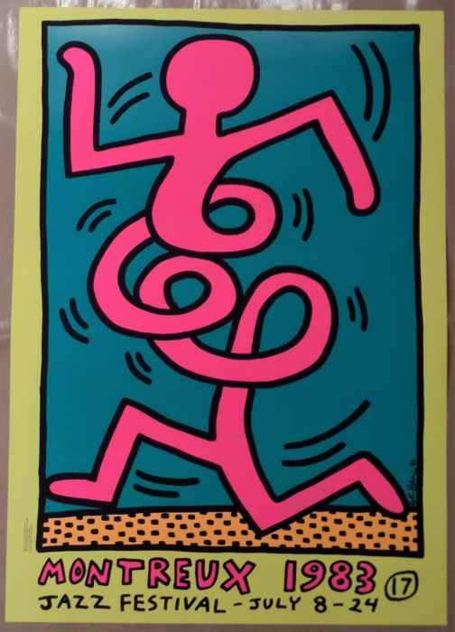 Keith Haring - Montreux Jazz Festival
