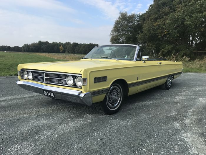 MERCURY - Park lane Convertible - 1966