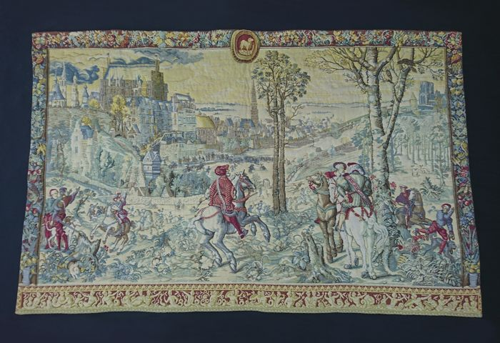"La Filandière - Tapestry ""The Hunts of Maximilian"" - Katoen"