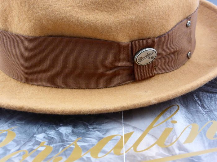 Borsalino - Robert Redford Fedora (Old man  n the Gun) Hat - Catawiki a72fc25bb0dc