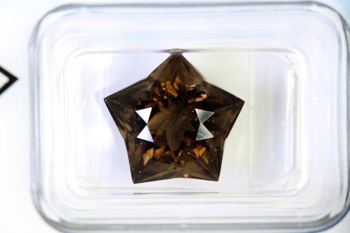 No Reserve Price - Smoky Quartz - 5.44 ct